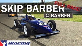 First Race At Barber And No Spotter! | Skip Barber at Barber Motorsports Park - iRacing