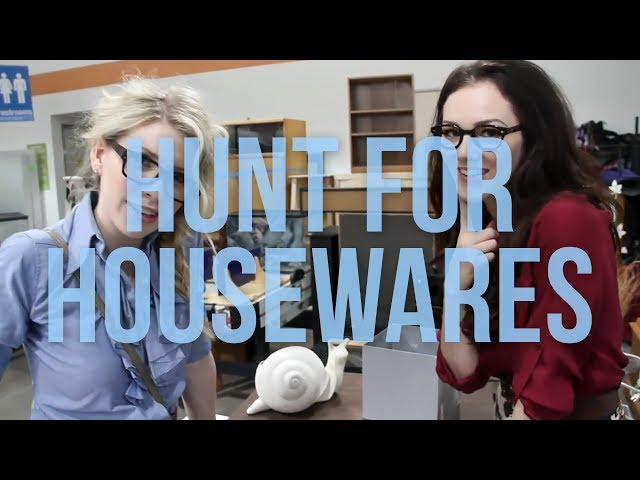 The Hunt For Housewares