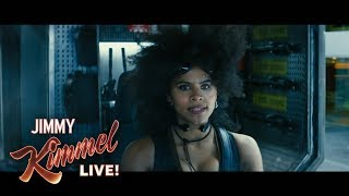 Zazie Beetz on Playing Domino in Deadpool 2