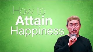 How To Attain Peace & Happiness? Islamic Kinetic Typography ? by Sheikh Hussain Yee ? TDR