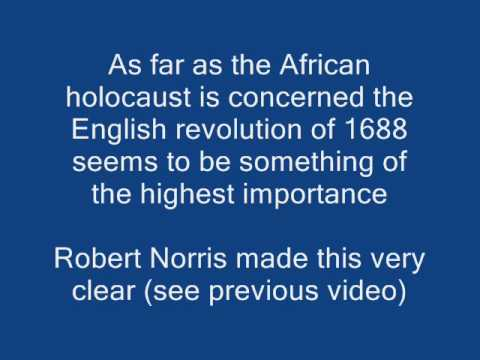 English revolution African holocaust
