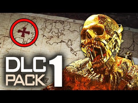 WW2 ZOMBIES DLC 1: MAP LOCATION, CHARACTERS & MORE TEASERS! (Call of Duty WW2 Zombies)