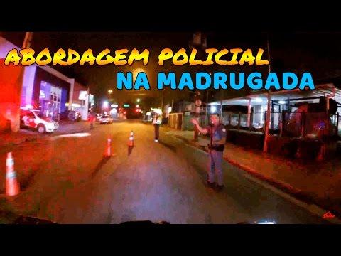IBRAH DA FZ6 - SUSPEITA DE ROUBO + ABORDAGEM POLICIAL !