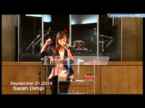 [FGATulsa]#1051#Sept 21,2014 English Service (Sarah Dimpi)