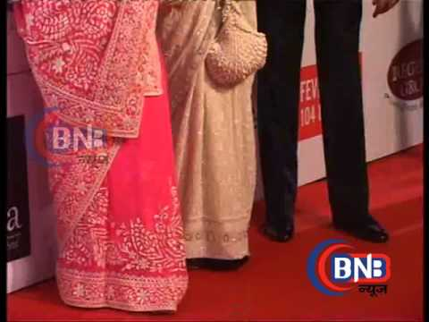MOST STYLISH MUMBAI SEASON 5 RED CARPET #  AMITABA ABCHHAN AND JAYA BACHHAN #