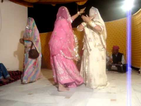 Rajasthani Dance At A  Weding video