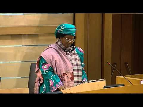 Her Excellency Dr Joyce Banda's address to the Scottish Parliament - 19th March 2013