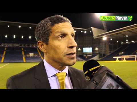 West Brom 0-2 Norwich City: Chris Hughton Reaction