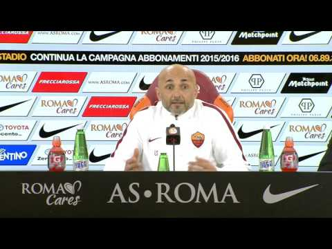 Spalletti, conferenza stampa pre Sampdoria 06.02.16 (VIDEO INTEGRALE HD)