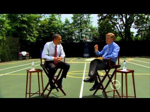 President Obama Talks Basketball with Marv Albert