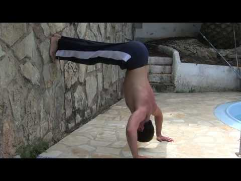 Beginner to advanced Handstand Press Image 1