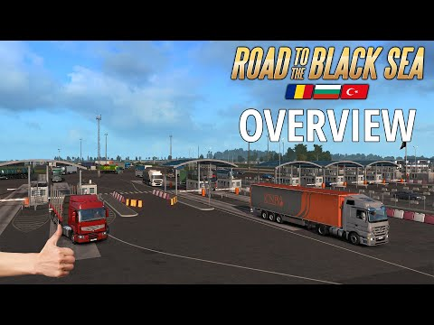 ETS2 Road To The Black Sea DLC - Overview