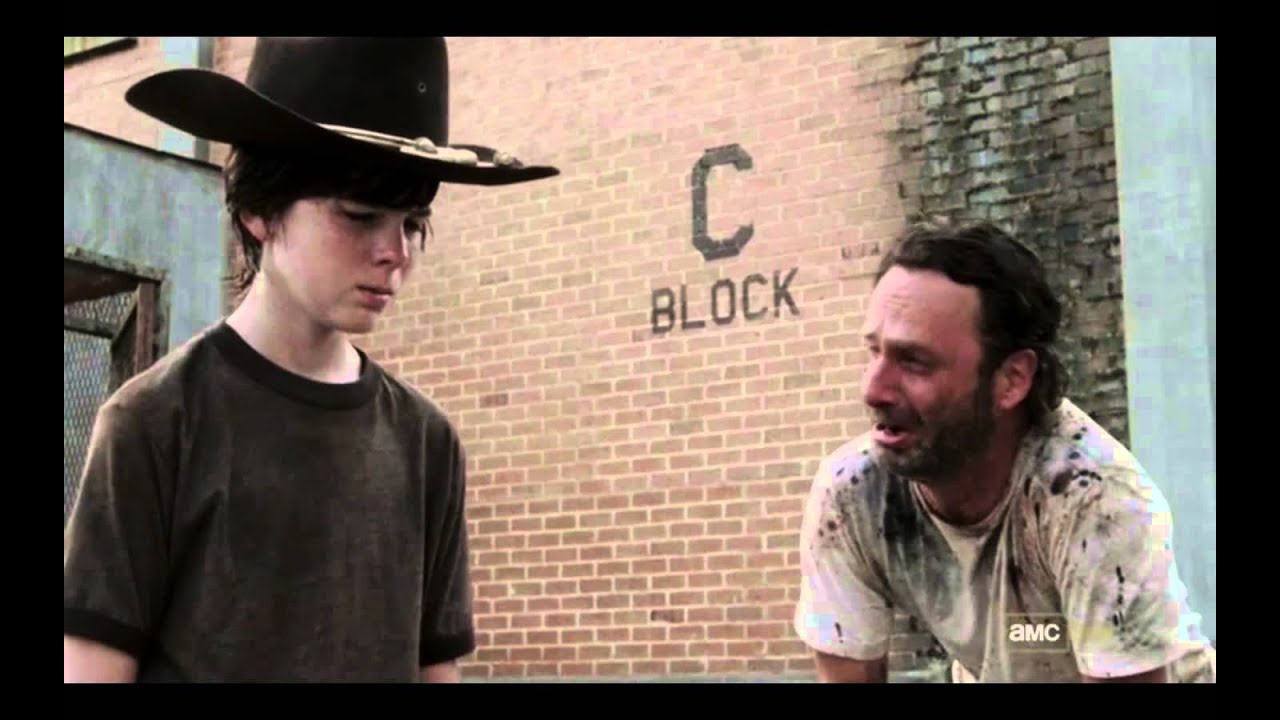 walking dead coral and rick meme