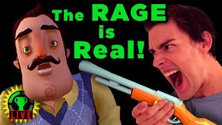 THE RAGE NEVER ENDS! | Hello Neighbor Beta 3 (Part 3)