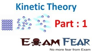 Physics Kinetic Theory part 1 Introduction CBSE class 11