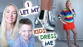I LET MY KIDS DRESS ME FOR A WEEK  |  EMILY NORRIS ad