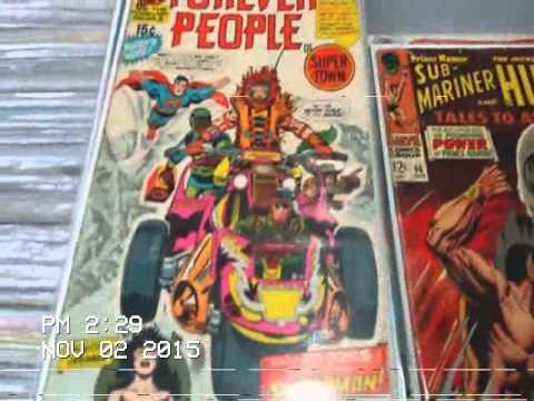 Silver age comic books collection found in Milton
