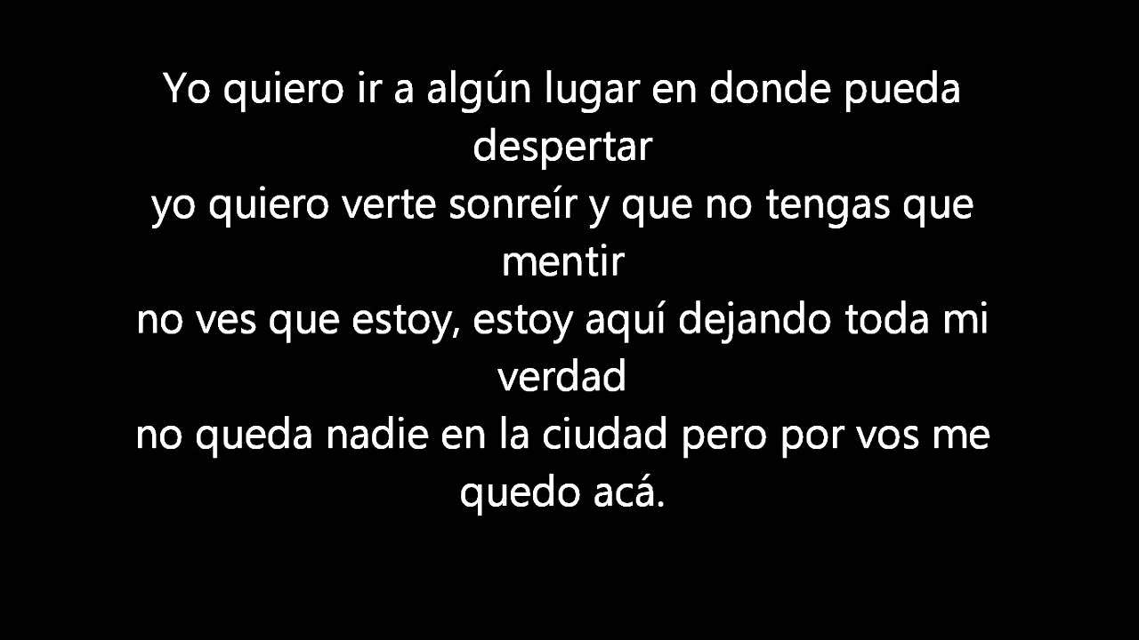 letra de la cancion despues de ti que de pandora: