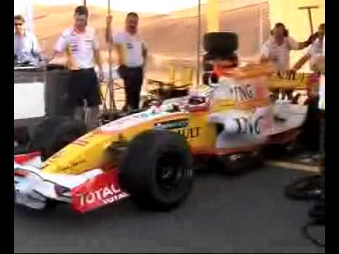 Mohammed Ben Sulayem Renault F1