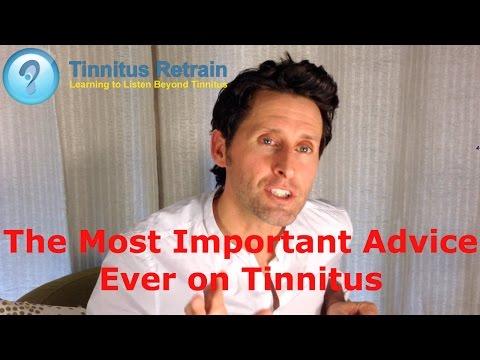 Tinnitus Retraining Therapy, the Most Important Advice on Tinnitus