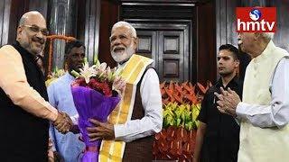Modi Elected NDA Parliamentary Party Leader | hmtv