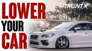 Why You Should Lower Your Car