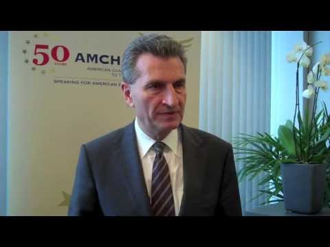 Commissioner Oettinger calls for the completion of the European Internal Energy Market