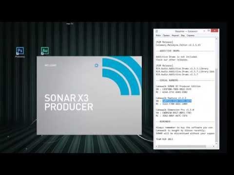 установка SONAR X3 Producer