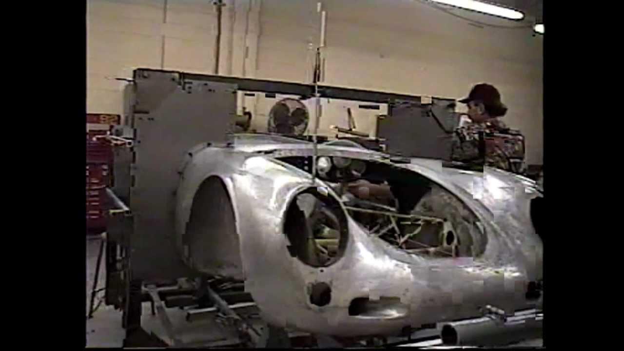 Peter Dunkel 1955 Porsche 550 1500 Rs Spyder Serial 550