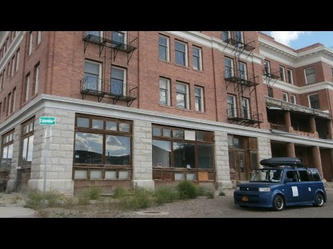 Vanishing Point Locations: Goldfield Hotel and the Faith Healers' Bluff