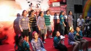 PKPS Glee Club Performance at Lan Kwai Fong Festival 2010