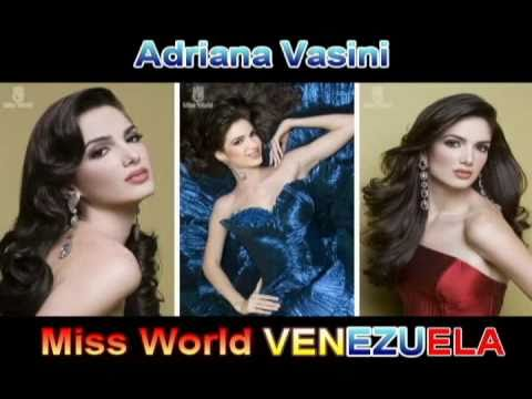 Adriana Vasini Miss World Venezuela
