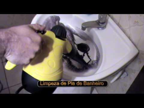 Vaporizador Higienizador Limpador Portátil A Vapor Completo