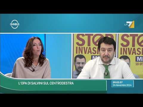 """Elezioni Emilia-Romagna, Salvini: """"Alternativa a sinistra e Renzi c'è. Scommessa diventa nazionale"""""""
