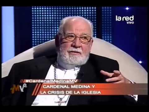 El cardenal Jorge Medina comenta la situación actual de la Iglesia Católica