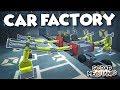 CAR FACTORY ASSEMBLY LINE! - Scrap Mechanic Creations! - Episode 157