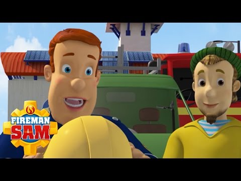 Fireman Sam US Official: Firemen, Mechanics and Fishermen | Learn About Jobs #1