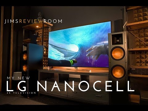 New 65 TV at the studio for 2018!! - LG Super UHD Nano Cell TV - Come watch!