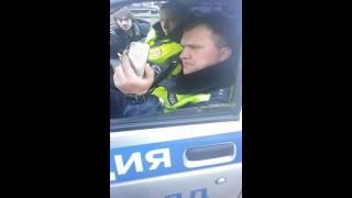 ГИБДД РФ Москвы против граждан СССР 28 марта 2016 года