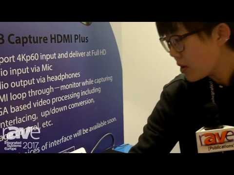 ISE 2017: Nanjing Magewell Electronics Shows Off USB Capture HDMI Plus