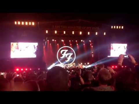 Foo Fighters - The Pretender live at Invictus Games 14/9/14
