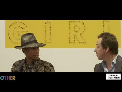 Pharrell Williams'  G  I  R  L  Exhibition at Galerie Perrotin, Paris