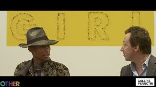 Pharrell Video - Pharrell Williams'  G  I  R  L  Exhibition at Galerie Perrotin, Paris