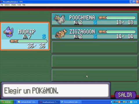 Pokemon rubi cheats: carameloraro