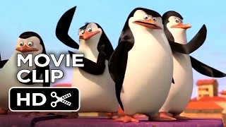 Penguins of Madagascar Movie CLIP - Something Chase-y (2014) - Benedict Cumberbatch Movie HD