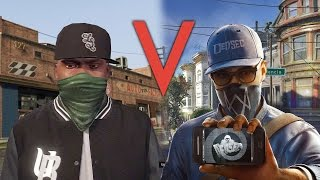 Watch Dogs 2 vs GTA 5: How Are Their Worlds Different?
