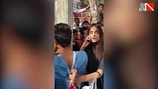Delhi's 'Dabangg' girl slaps eve teaser, drags him to police station