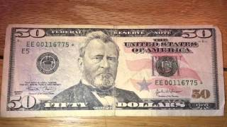 Very Old 50 Dollar Bill Vs New Fifty Review