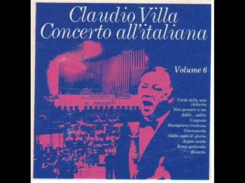 Claudio Villa Addio Sogni Di Gloria