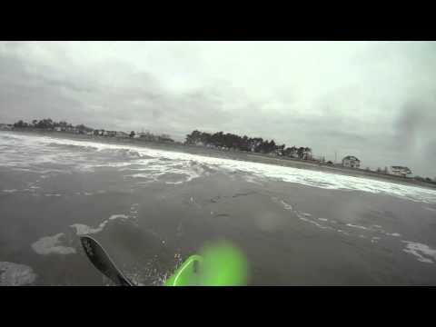 N. Hampton State Beach Surf- 12/20/12